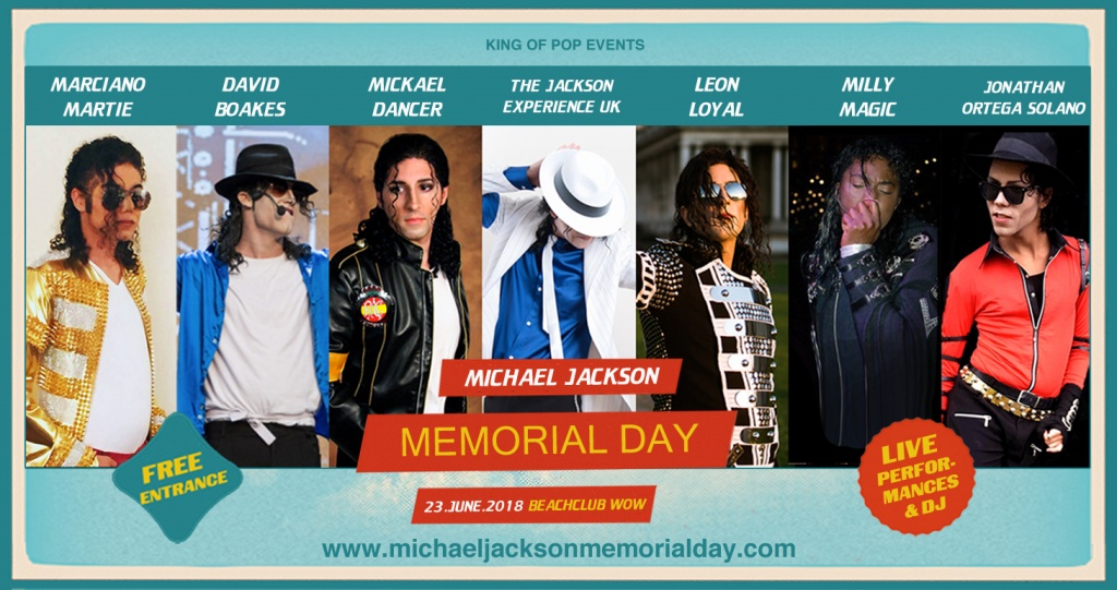 performances Michael Jackson Memorial Day